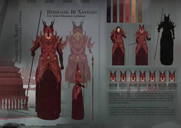 Character sheet Concept art by KaiOwen