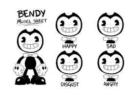 Bendy Model-sheet by YaiLP13