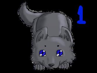 Wolf Puppy Adoptable 1 by Berrymarley