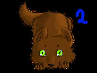 Wolf Puppy Adoptable 2 by Berrymarley