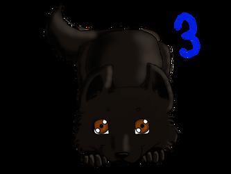 Wolf Puppy Adoptable 3 by Berrymarley