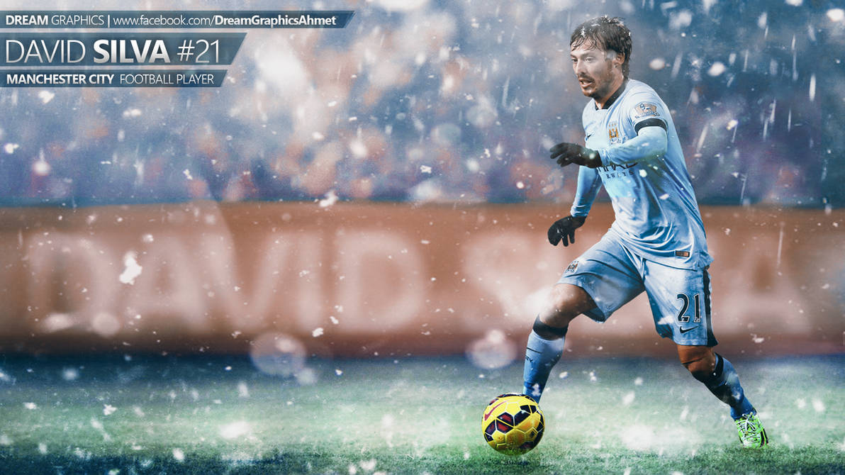 David Silva Wallpaper By Dreamgraphicss On Deviantart