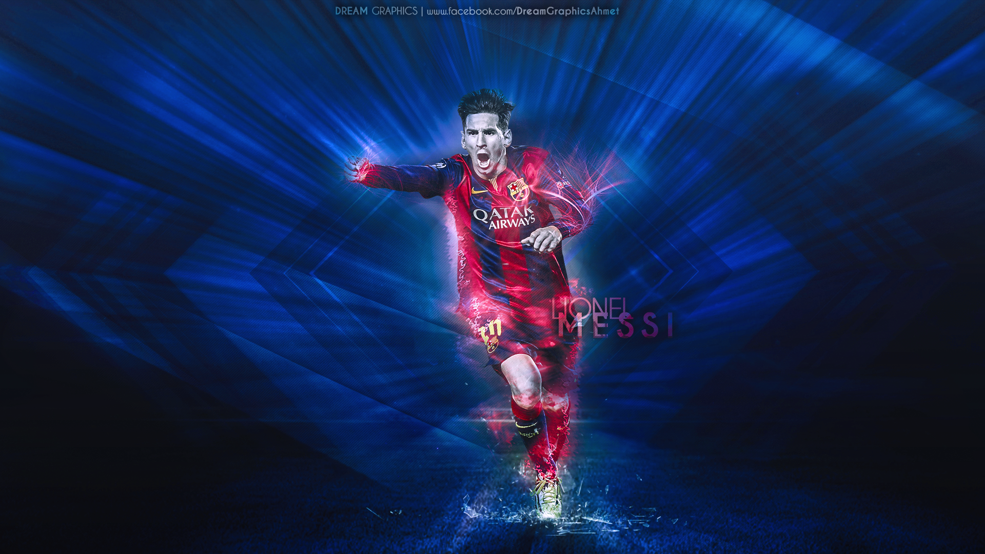 Leo Messi Barcelona 2015 By Dreamgraphicss On DeviantArt