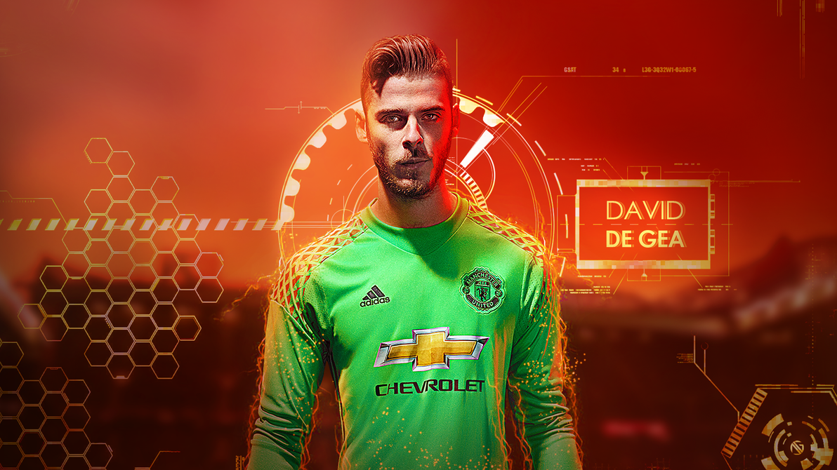 David De Gea Wallpaper Work 2017 By Dreamgraphicss On