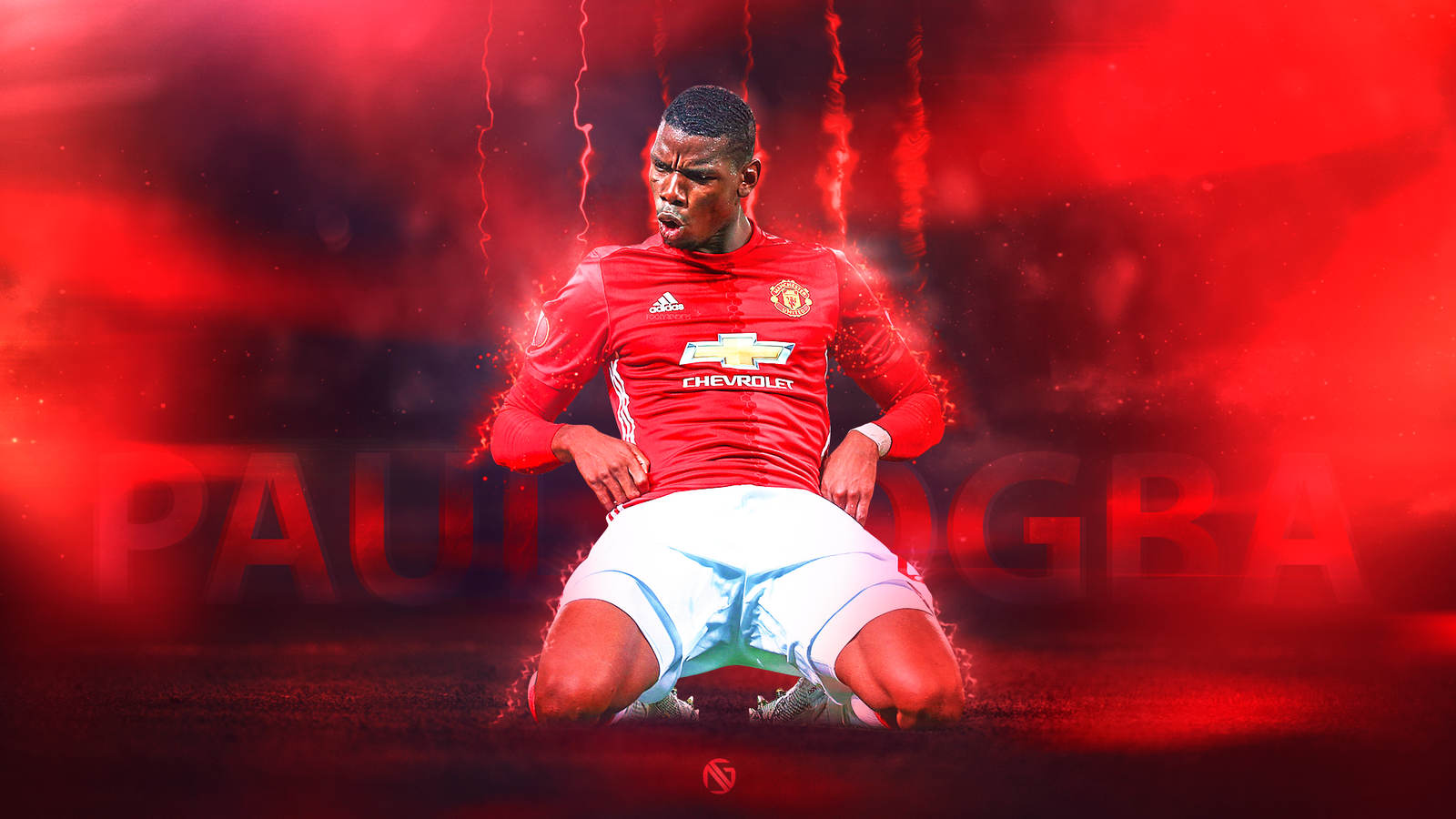 Paul Pogba Wallpaper 2017 (by Dreamgraphicss)
