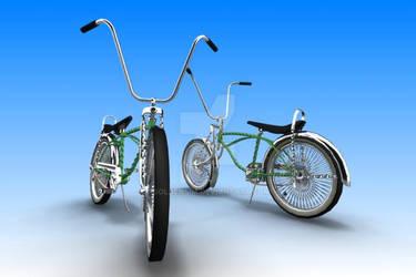 Twisted Low-rider Bike1 by GoldenSim