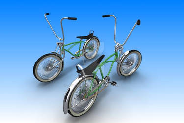 Twisted Low-rider Bike3 by GoldenSim