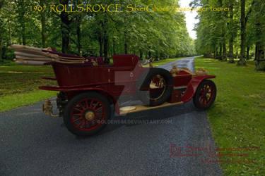 1907 Rolls-Royce Silver Ghost7passenger tourer by GoldenSim