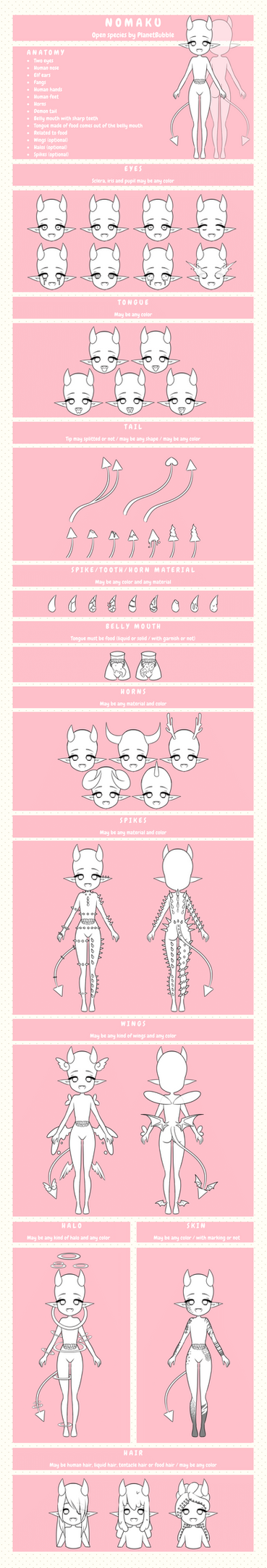 Nomaku Open Species by PlanetBubble