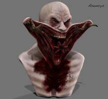 Nomak bust by Alnomcys