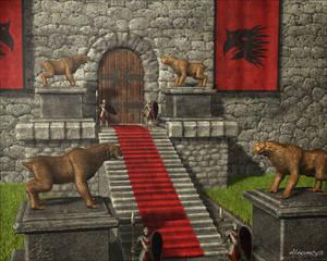 Gate of Gamric palace