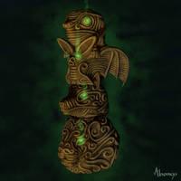 Fantasy totem by Alnomcys
