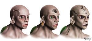 hominus female heads