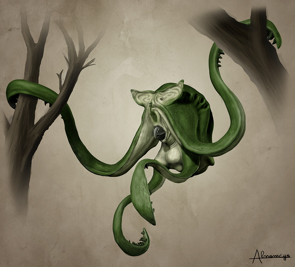 An animal from Emysfer by Alnomcys