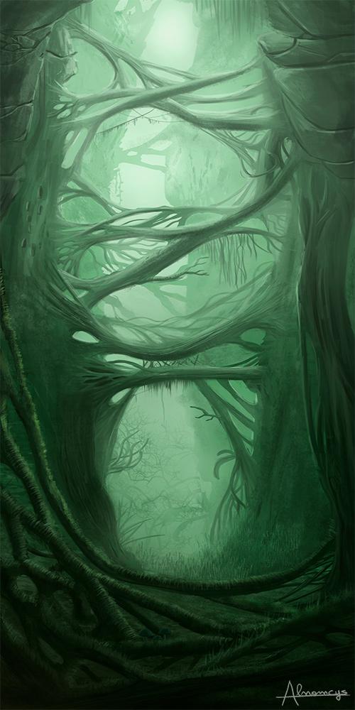 Misty rift by Alnomcys