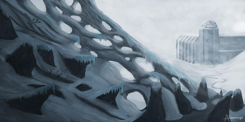 Polar temple by Alnomcys