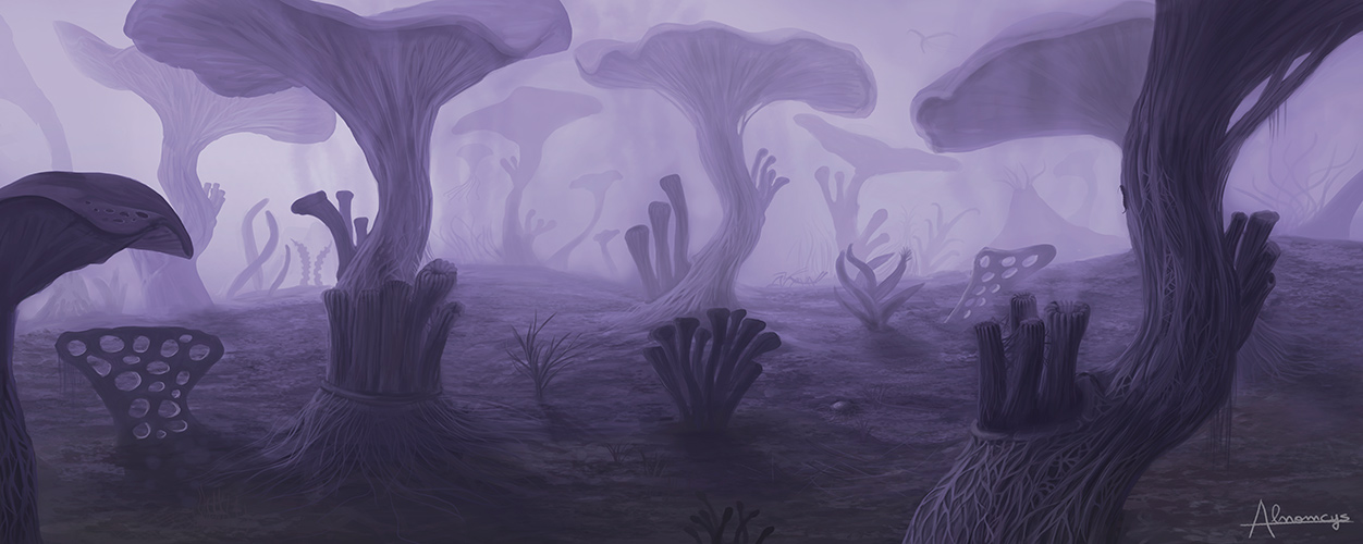 Deadly forest by Alnomcys