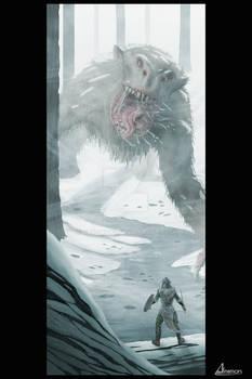 Facing the beast - snow