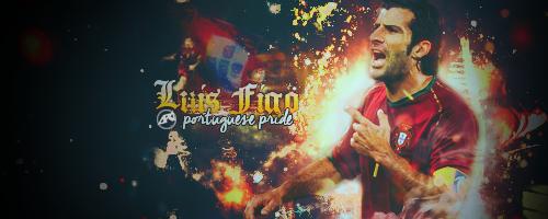 portuguese pride - Luis Figo by Ara-Designs