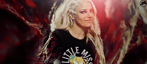 Alexa Bliss signature by Ara-Designs