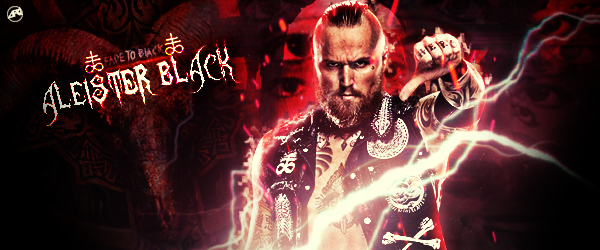 Aleister Black / Tommy End Signature by Ara-Designs