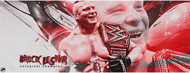 Brock Lesnar signature by Ara-Designs