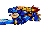 Rocket Knight Adventures Sparkster 1 by Natakiro