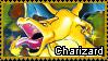 Pokemon - Charizard Stamp by Natakiro