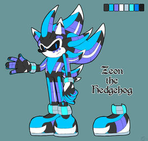 Zeon the Hedgehog [Reference]