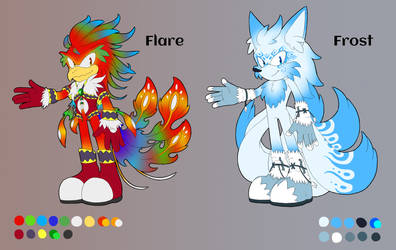 Flare and Frost [Reference] [Commission] by Natakiro