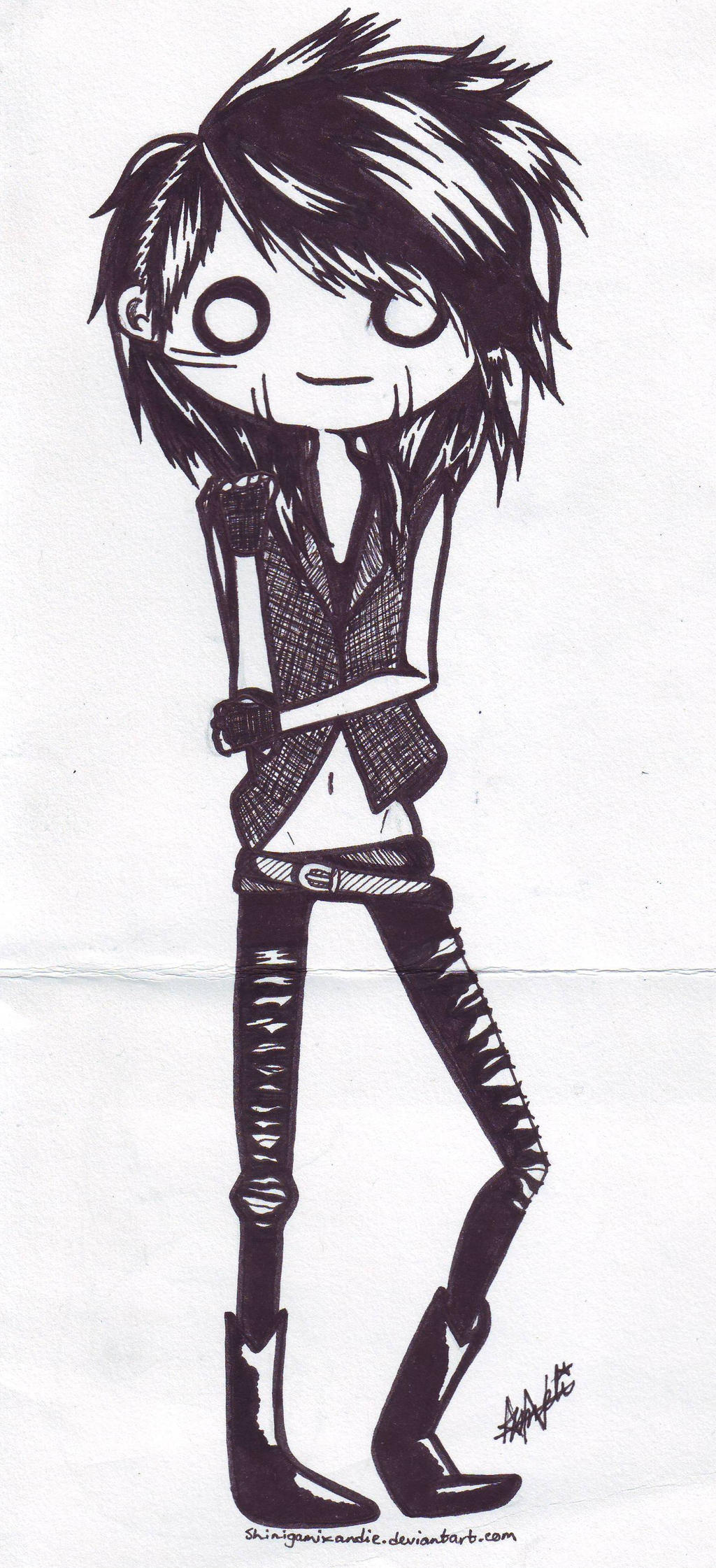 Ashley Purdy by shinigamixandie on DeviantArt