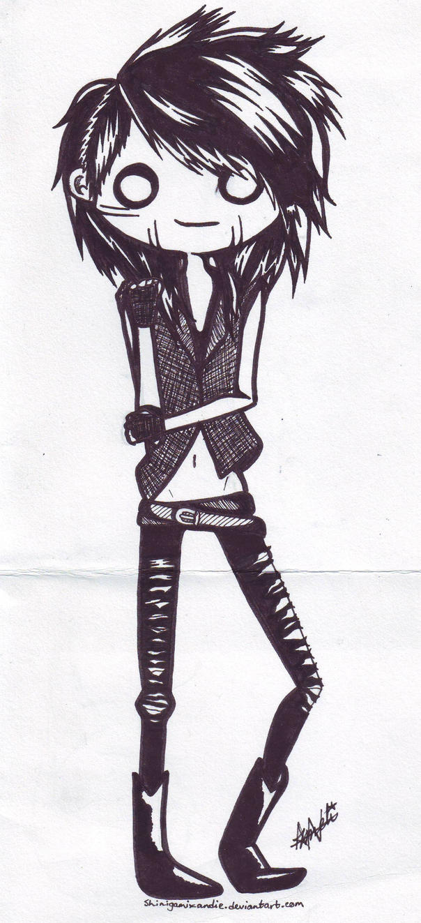 Ashley Purdy by shinigamixandie