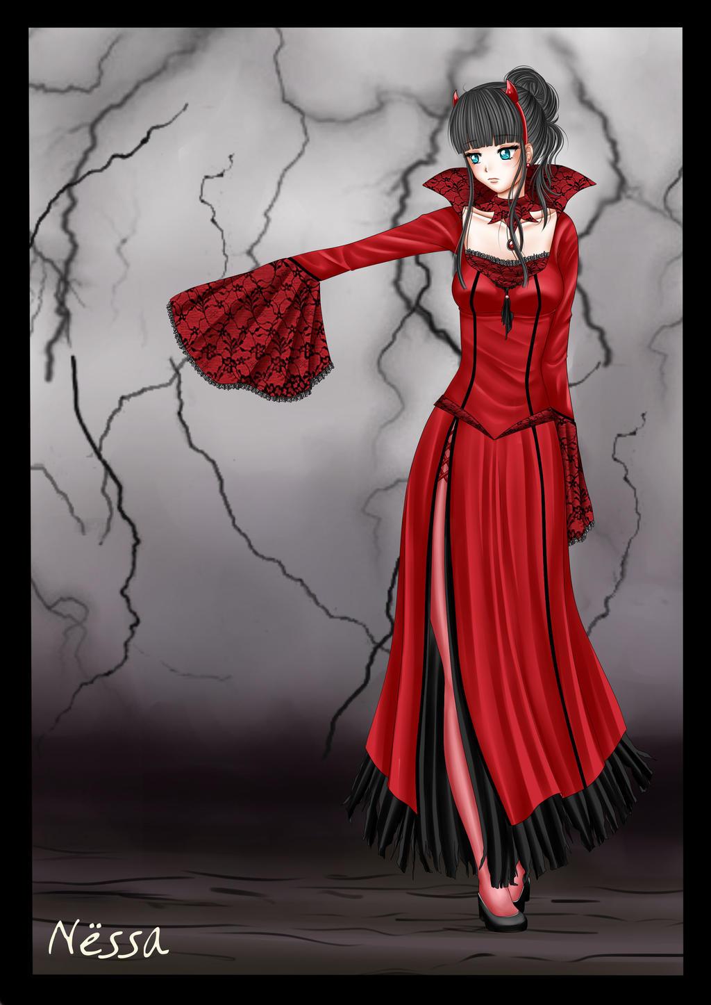 Mariko Halloween by Nessa-CZ