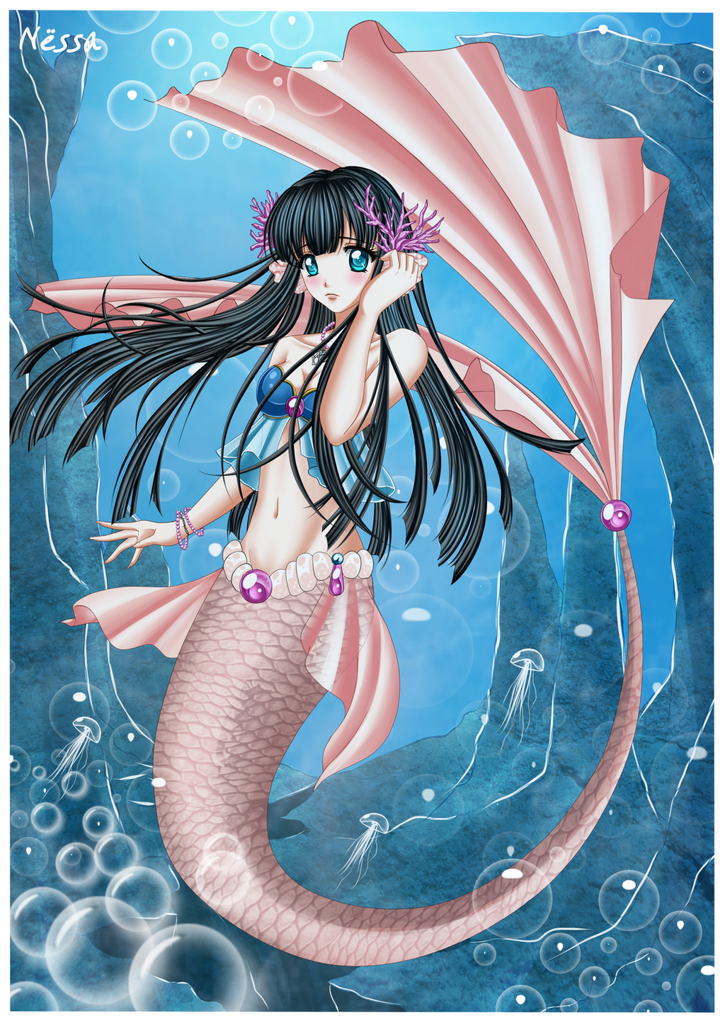 Mariko mermaid by Nessa-CZ