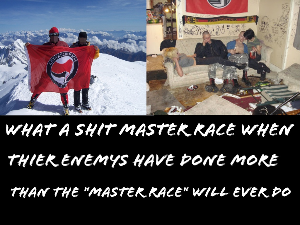 If the nazis are the master race....we're fucked by Jejejeje823