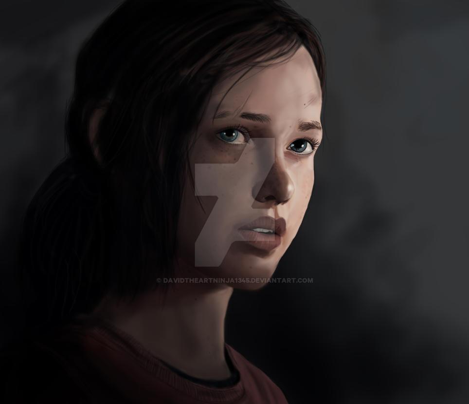 The Last Of Us - Ellie by DavidTheArtNinja1345