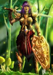 Elvish warior