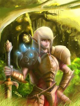 Elvish warlock