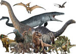 Dinosaurs of my world