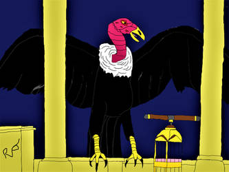 Clash of the Titans: The Giant Vulture