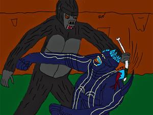 Kong vs Leatherback