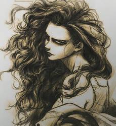 Bellatrix Lestrange by ValkyrieShadows2