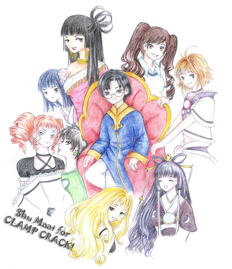 Clamp By Cioccolatodorima On Deviantart: Eriol And CLAMP Women By Shu-Maat On DeviantArt