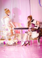 Girls meet sweets by Shu-Maat