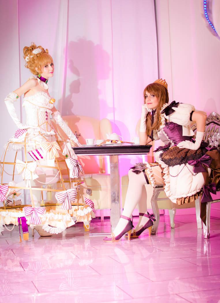 Girls meet sweets