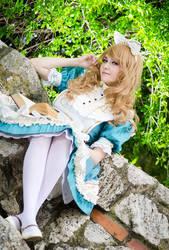 Alice and her book - Sakizo's Wonderland