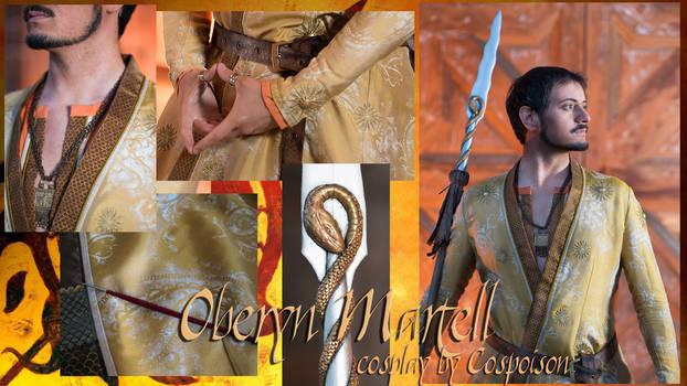 Oberyn Martell cosplay - details