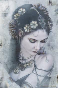 Indian steampunk - portrait