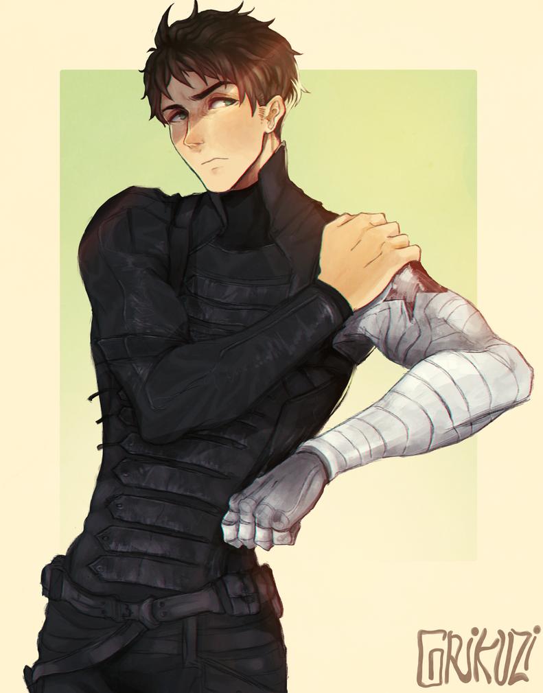 The Winter Soldier: Sousuke Yamazaki by Kholouz