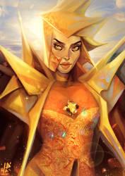 Yellow Diamond by Kholouz